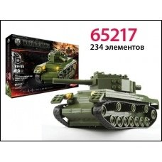 Конструктор World of tanks КВ - 85 1943 234 деталей