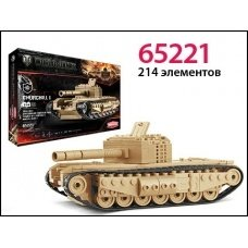 Конструктор World of tanks танк Churchill I 218 деталей